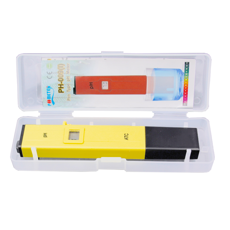 10pcs lot Pocket Pen Water PH Meter Digital Tester Measure Range 0 0 14 0pH for