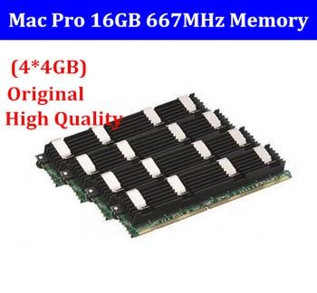 NEW for MACPRO MEMORY 16GB DDR2 667 FB-Dimm mac pro16GB (4 x 4GB) DDR2 PC2-5300 ECC DDR2-667 for Mac Pro 1,1 2,1 3,1