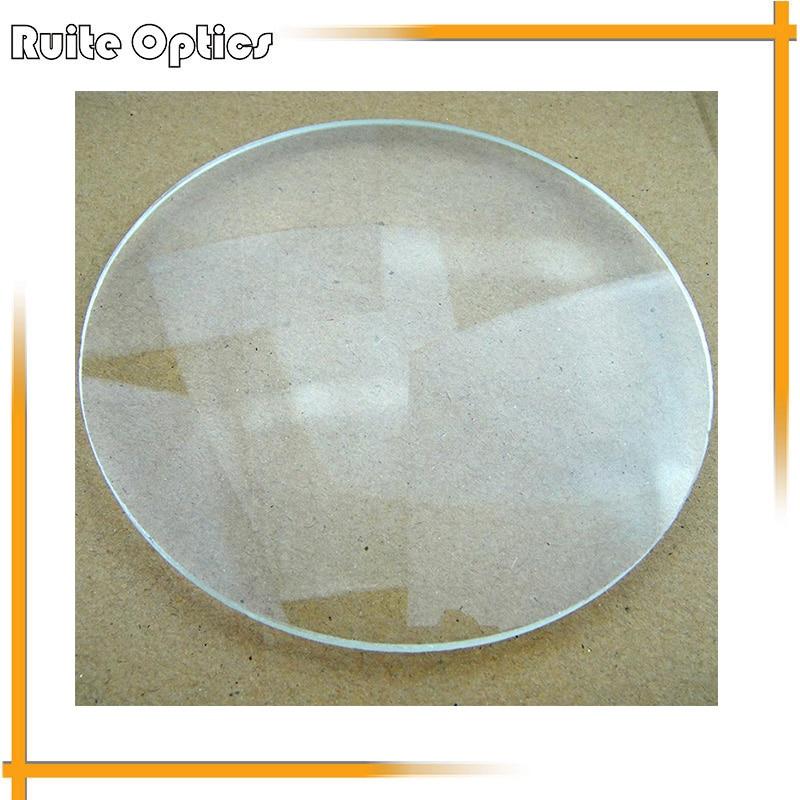 2pcs 127mm Large Double Convex White Optics Glass Lens Magnifying Glass Lenses Spherical Lens