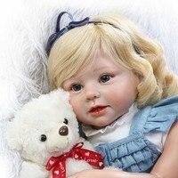 28 дюйма реалистичные возрождается куклы Мягкие силиконовые винил всего тела детей Playmate подарок для девочек младенцев жив кукла Bebe игрушки