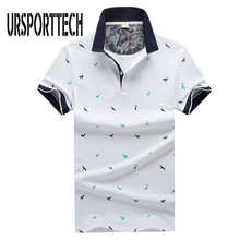 New Brand Polos Mens Printed Polo Shirts Summer Cotton Short Sleeve Camisas Polo Casual Stand Collar Male Polo Shirt 4XL brand men summer short sleeve 3d print 95%cotton high quality casual fashion polo shirt stand collar button male