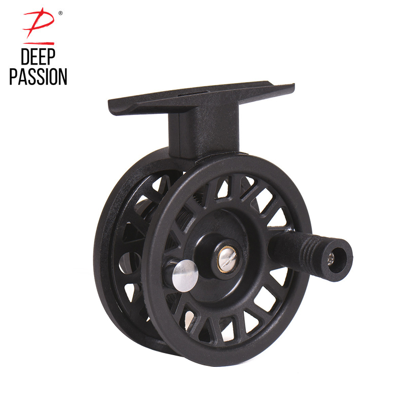 Fly Fishing Reels Bait Casting ABS Plastic Fish Line Wheel Fly Fishing Spool Reel Spinning Saltwater Fishing Reels