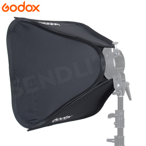 Image 4 - Godox Light Softbox 40*40 cm Diffuser Reflector soft Box for Flash fit for S Type Bracket photography video Studio accessories