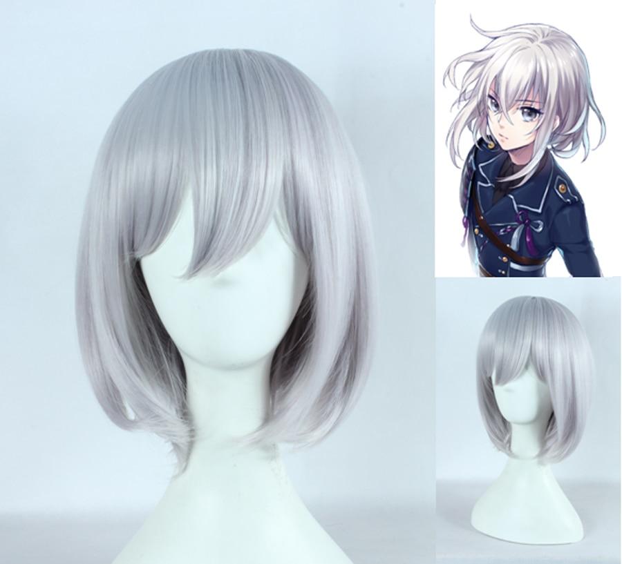 anime girl with short silver hair wwwimgkidcom the