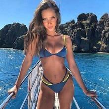OLPAY Brand design womens bikini split super thin shoulder strap made in China swimsuit women beach vacation essential