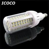 ICOCO 4x108 SMD 3528 LED E14 Kukurydzy Światło Lampy Energooszczędne żarówki Ciepły Biały Dom Promocja Sprzedaż Spadek wysyłka