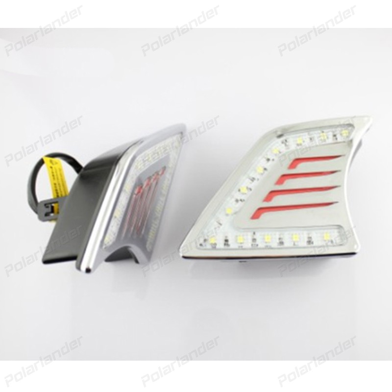 HOT auto part car accessory Daytime running lights for T/oyota V/IGo for tuner 2012-2015 Car-styling