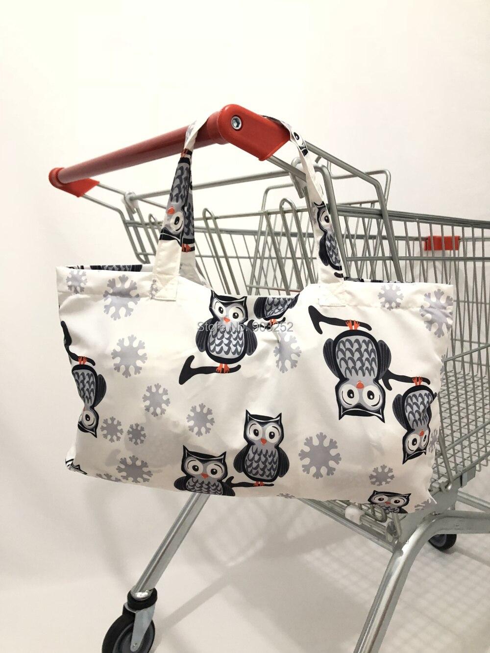 2в1 белая сова детская корзина для покупок и ресторанный чехол для стульев-складывается в маленькую сумку для удобного хранения и путешествий