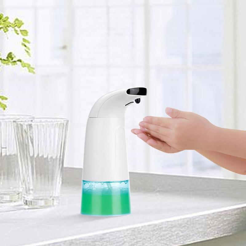 Intelligent 250ml Liquid Soap Dispenser Automatic Induction Soap Hand Free Touchless Bathroom Smart Sensor Liquid Soap Kitchen