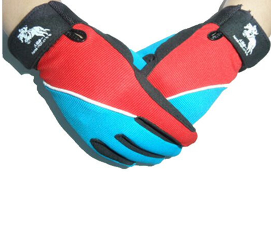 Anti-slip Horse Riding Gloves For Kids Adults Durable Top Quality Assorted Colors