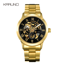 KARUNO Luxury Gold Men's Watch Automatic