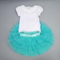 Clearance High Quality Toddlers Fluffy Pettiskirts Little Girls Chiffon Princess Ball Gown Kids Gauze Summer Clothes