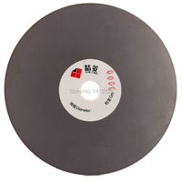 5 Inch 125mm Grit 3000 Fine Electroplated Diamond Coated Flat Lap Disk Grinding Polishing Wheel Lapidary
