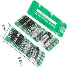 Защитная плата для зарядного устройства, 3S 20A 12,6 V литий ионный аккумулятор 18650 PCB BMS