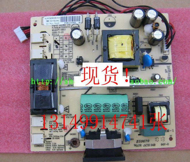 Free Shipping>/919Vwg / MW19L-AA / <font><b>power</b></font> <font><b>board</b></font> BLM1700P61110 / PI-0B03 / <font><b>E59670</b></font>!-Original 100% Tested Working image