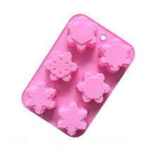 Dropshipping 3D Silicone Chocolate Mold Candy Cookie Baking Fondant Mo