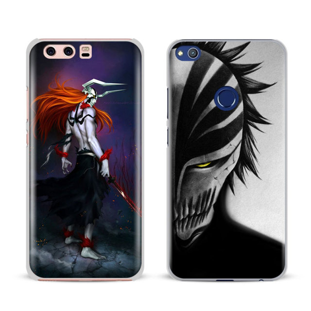 Bleach Phone Case Cover Shell For Huawei P8 9 10 Lite 2017 Honor 6x 8 V8 V9 Mate 7 8 9 10 Pro Nova Plus 2