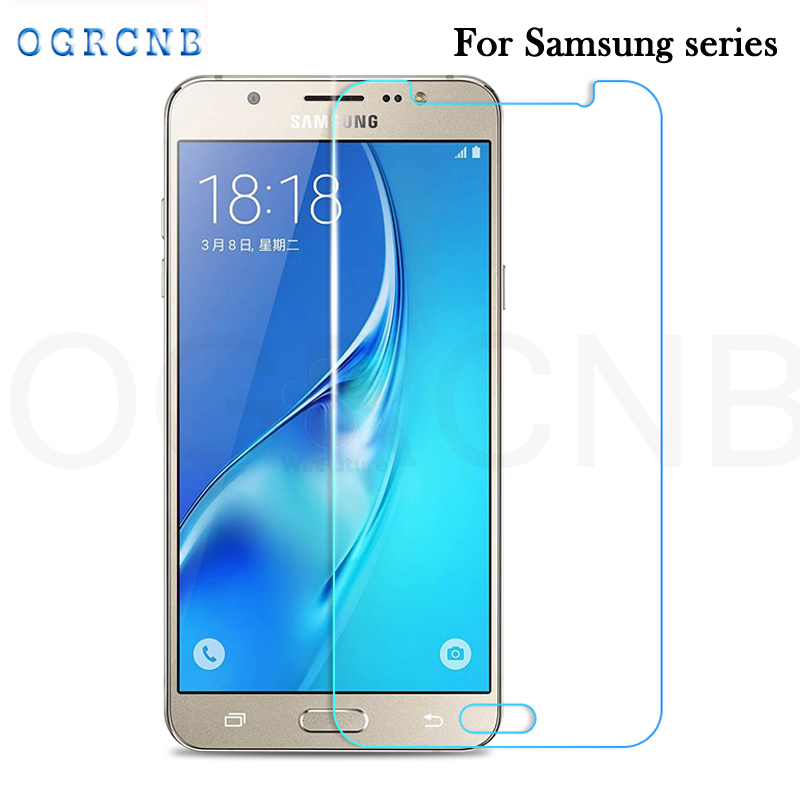 2.5D Tempered Glass For Samsung Galaxy J1 J5 J7 2016 Screen Protector J120F J510F J710F High Transparent Screen Protective Film