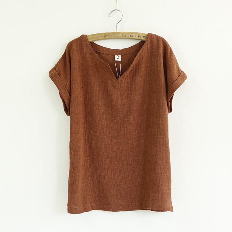 Womens Linen Shirts Blouses