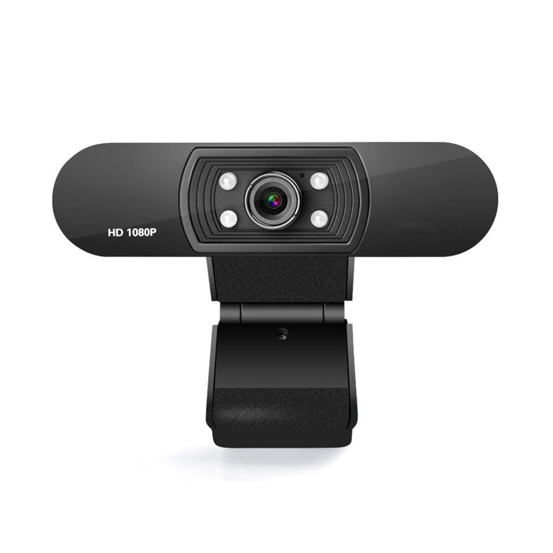 H800 computer camera hd with microphone 1080p network live plug and play light USB connection Webcam