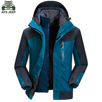 Winter Coat Men Outdoor Camping Hiking Fishing Climbing Ski Clothing Rain Jacket Polar Fleece Hoodie Waterproof