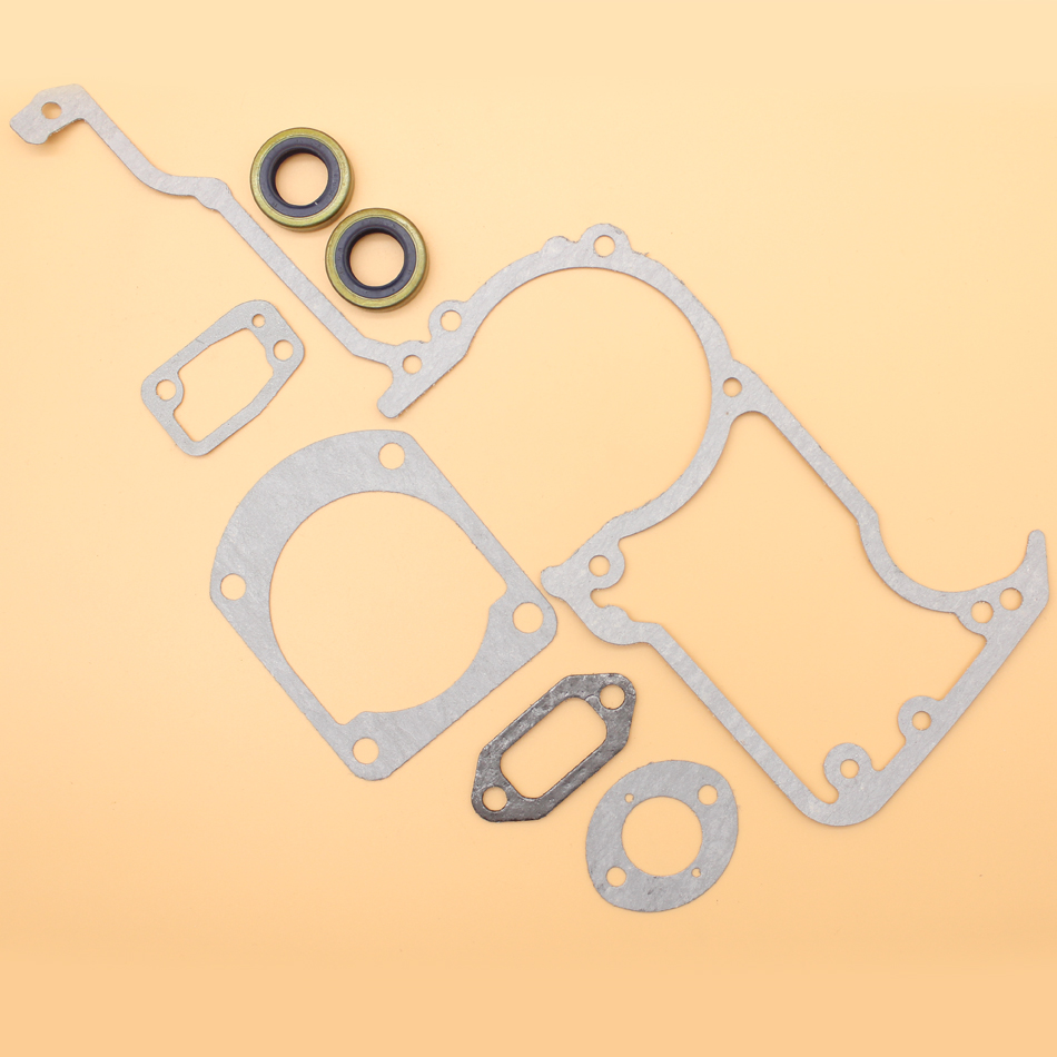 Engine Gasket Set & Oil Seal Kit For Husqvarna 268 268K 272 272XP 61 66 266 Chainsaw 503 26 02-04 Replacement