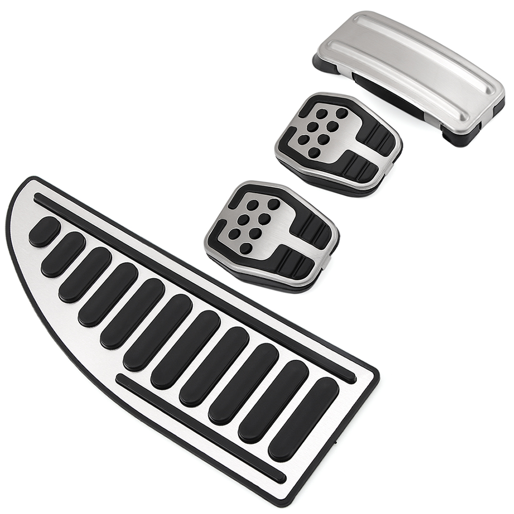 Car styling Stainless steel Car Pedal Pads Cover MT case For Ford Focus 2 MK2 3 4 MK3 MK4 Kuga Escape ST 2005 2017-in Pedals from Automobiles & Motorcycles
