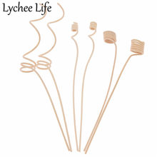 10pcs Reed Diffuser Vervanging Stok Hout Rotan Riet Door Bloemen Diffusers Accessoires Moderne DIY Home Decor(China)
