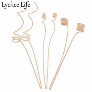 10pcs Reed Diffuser Replacement Stick Wood Rattan Reeds Through Flowers Diffusers Accessories Modern DIY Home Decor