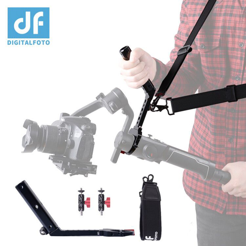 MOZA Air 2 Handle Hang Strap Mounting Clamp Stabilizer GIMBAL Accessories Install Monitor Microphone Making It