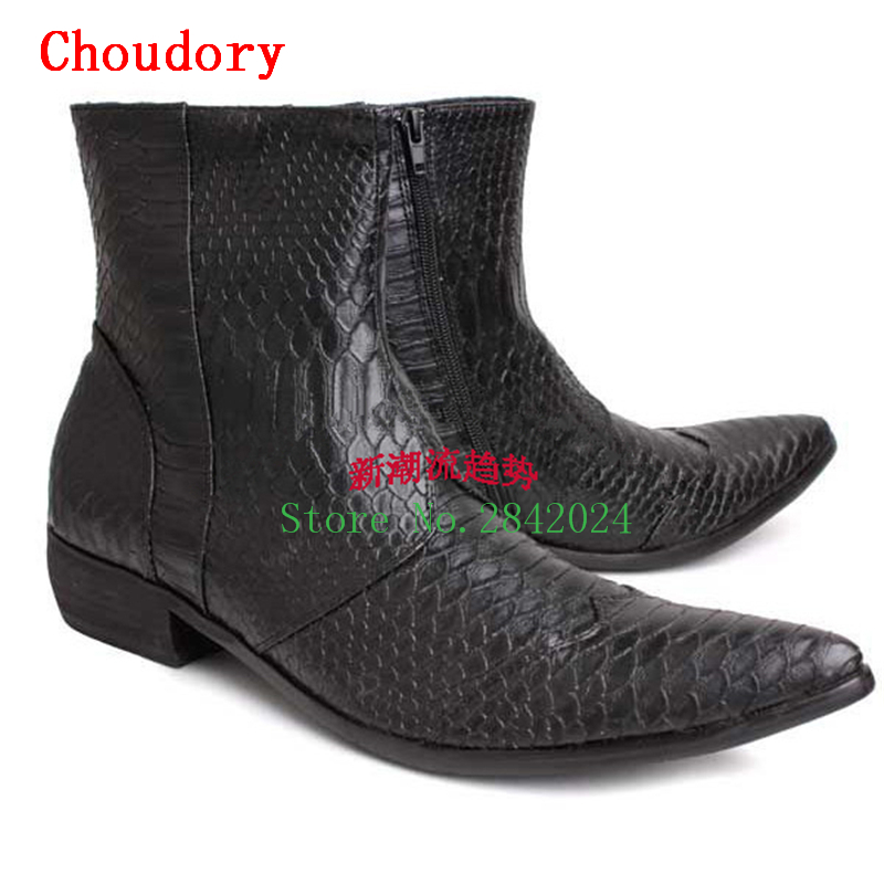 Online Get Cheap Mens White Cowboy Boots -Aliexpress.com | Alibaba ...