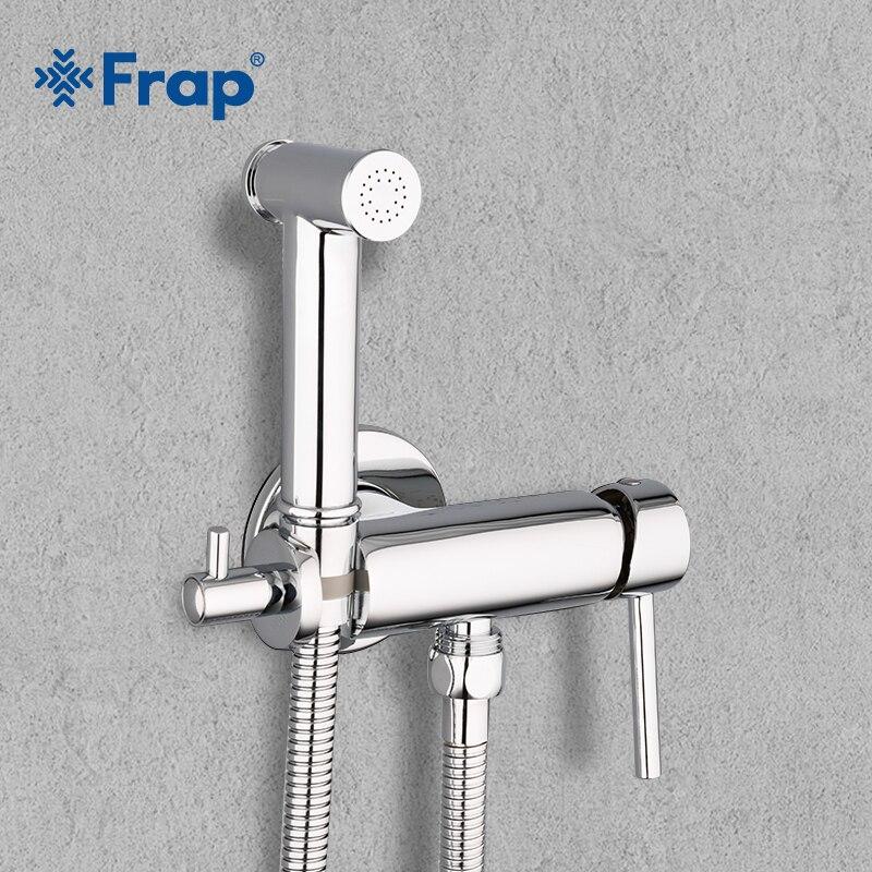 Frap Bidet Faucets Brass Bathroom shower tap bidet toilet sprayer Bidet toilet washer mixer muslim shower