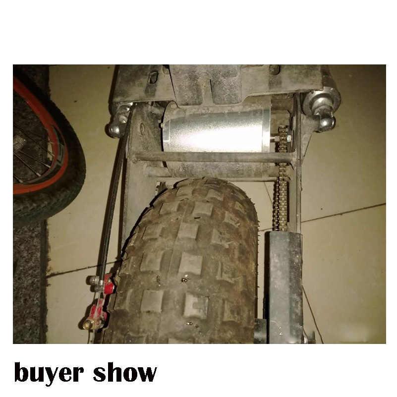 """48V 2000W Brushless DC מנוע חשמלי אופניים 5400 סל""""ד E קטנוע אופניים חשמליים אופנוע חשמלי אופניים חלקי הרוטור"""