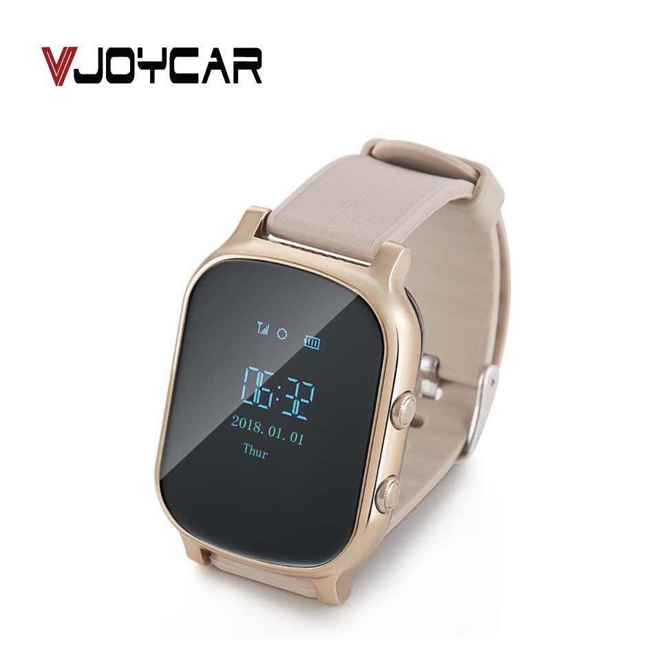 VJOYCAR 1.3 ''Smart GPS Bracelet montre Sport femmes hommes montre-Bracelet téléphone géo-clôture alarme voix parler SOS pour adultes enfants âgés
