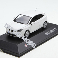 1:43 Alloy Toy Sports Car Model Seat Leon of Children's Toy Cars Original Authorized Authentic Kids Toys Gift
