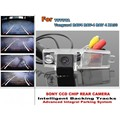 For TOYOTA Vanguard For TOYOTA RAV4 RAV-4 RAV 4 2005~2012 Smart Tracks Chip Camera HD CCD Intelligent Dynamic Rear View Camera