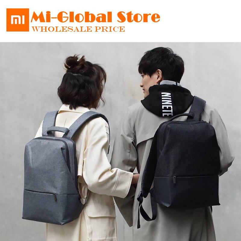 Nouveauté Xiaomi 90 Fun City Simple sac à dos étanche classique affaires voyage femme loisirs sac d'école pour ordinateur portable 14 pouces