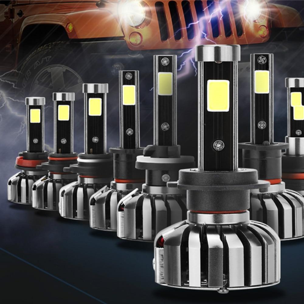 2pcs N7 COB LED Headlight Car Head Lights Lamp Bulbs Kit High Grade Auto Bulbs 2A 12V S2 LED Super Bright H1 H3 H7 H11 9007 HB5 electrolux kit 01 n auto kit