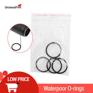 4pcs/pack Rubber Waterproof O Ring Silicone Ring Durable Lubricated Oring Seals For XHP70 LED Diving Flashlight