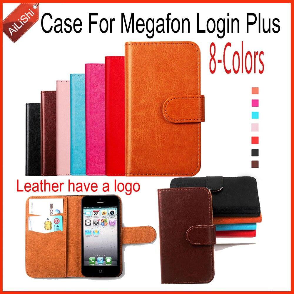 AiLiShi Fashion Leather Case PU Flip For Megafon Login Plus