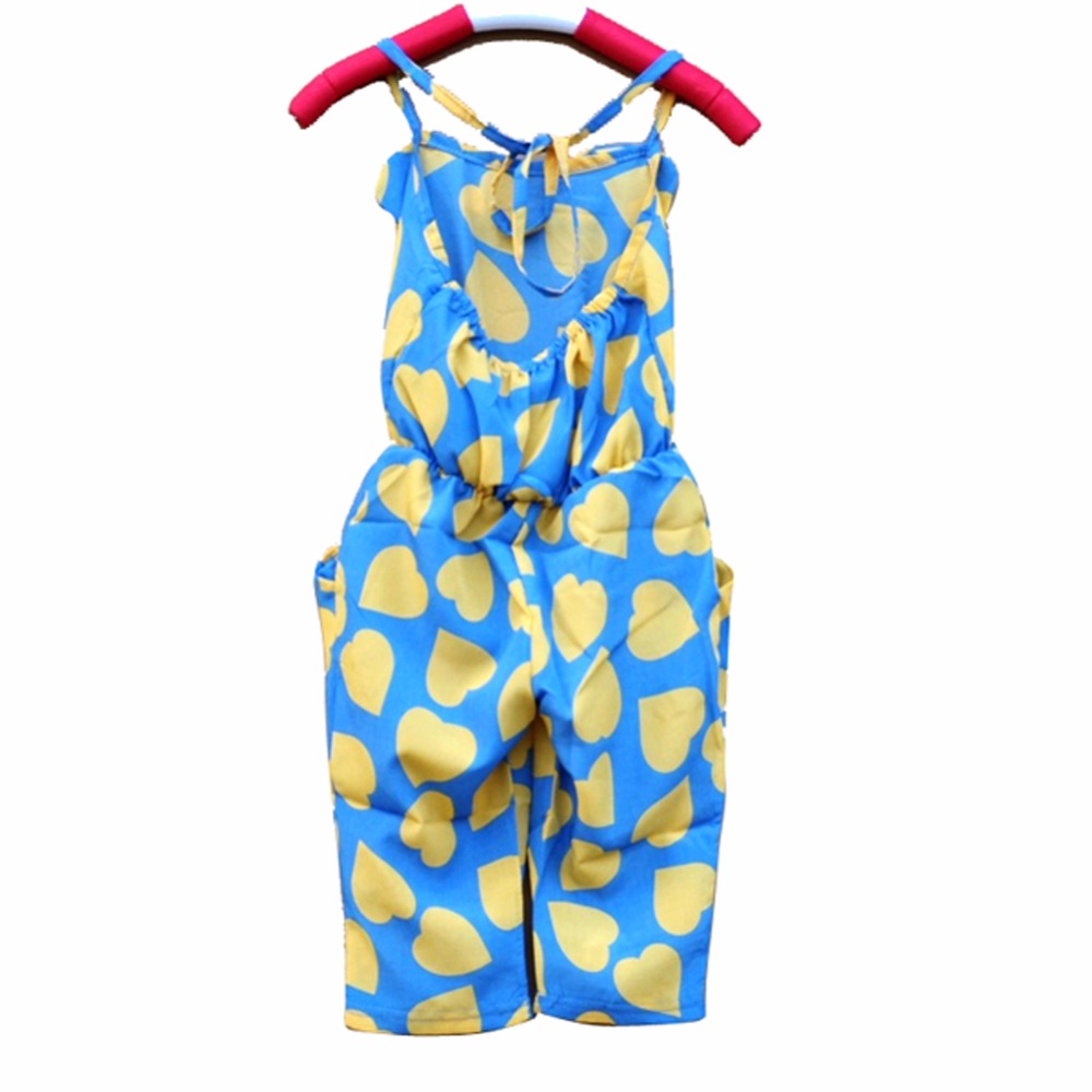 d2b96368ae8f 2 7Y Sweet Cildren Girls Summer Cozy Casual one Piece Jumpsuit Strap ...