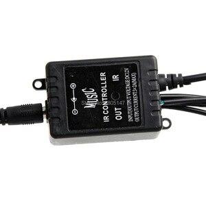 Image 4 - 4 ピース LED RGB 車のインテリアライト雰囲気 SUV 床ストリップランプリモート音楽制御車のインテリア装飾ライト車スタイリング