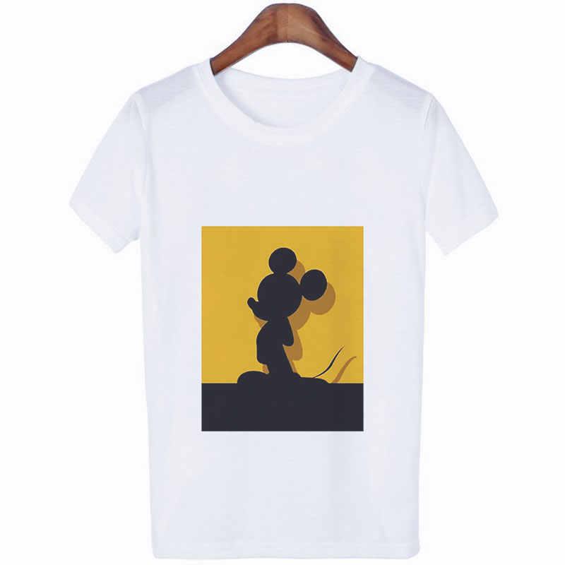 الصيف الشارع الشهير لطيف الجرافيك تيز الحيوان طباعة الجمالية أزياء النساء قمصان المتناثرة خمر الأبيض بلايز السيدات قمم