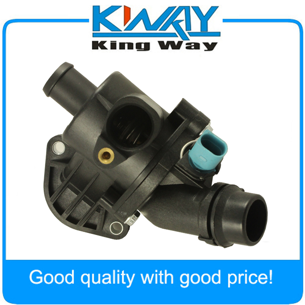 New Thermostat Housing with Sensor fit for 2002 2006 Audi A4 Quattro on 2006 nissan frontier thermostat location, 2006 mercury mountaineer thermostat location, 2006 chrysler pacifica thermostat location, 2006 mitsubishi raider thermostat location, 2006 buick lacrosse thermostat location, 2006 hummer h3 thermostat location, 2006 saturn ion thermostat location, 2006 jeep commander thermostat location, 2006 toyota matrix thermostat location, 2006 dodge ram thermostat location, 2006 saturn vue thermostat location, 2006 bmw 530i thermostat location, 2006 toyota tundra thermostat location, 2006 jaguar xj8 thermostat location, 2006 kia spectra thermostat location, 2006 gmc canyon thermostat location, 2006 pontiac solstice thermostat location, 2006 buick rendezvous thermostat location, 2006 dodge grand caravan thermostat location, 2006 saturn relay thermostat location,
