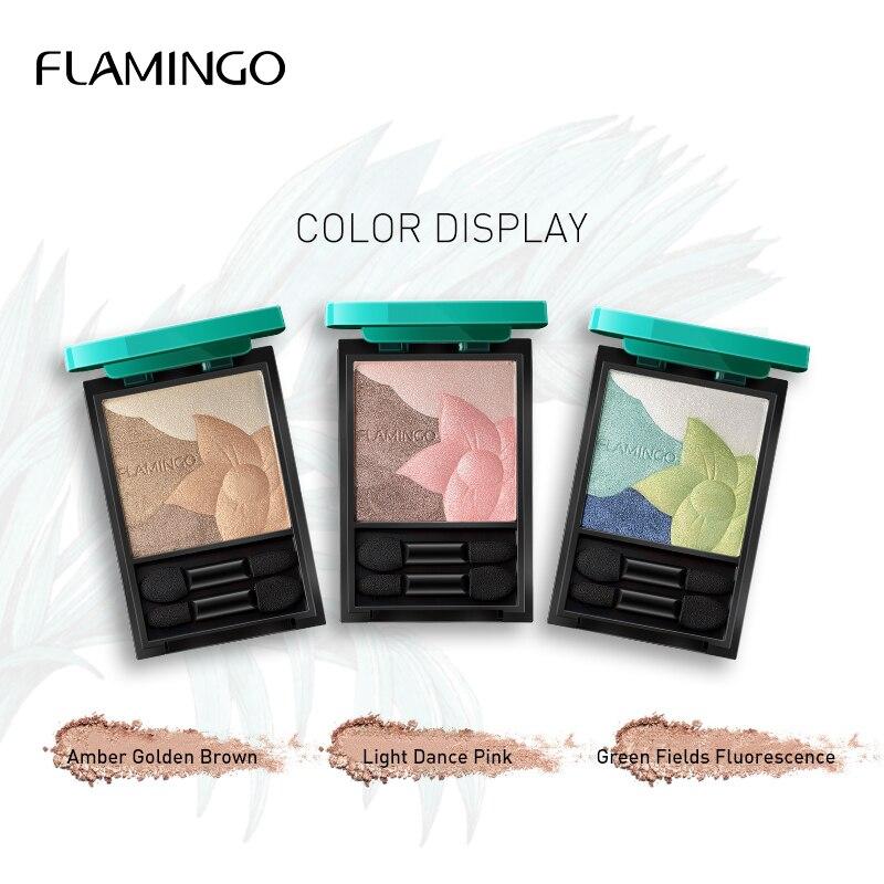 Фламинго джунгли яркие блестящие тени для век паллеты ультра тонкая пудра стерео макияж тени для век Земли Водонепроницаемый не цветущий LM5200|Тени для век| | - AliExpress