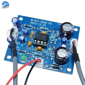 Image 4 - NE5532 OP AMP Stereo Amplifier Board Audio HIFI Speaker Amplifier Module Control Board Circuit Sound Development for Arduino