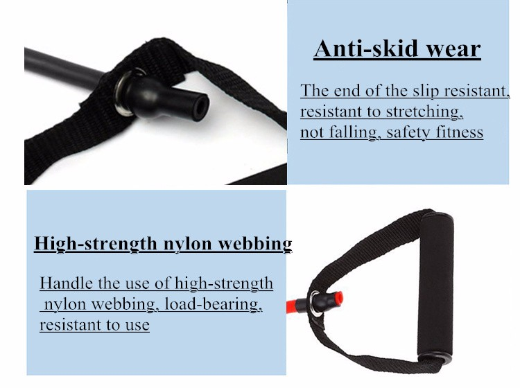 120cm Elastic Resistance Bands Yoga  (16)