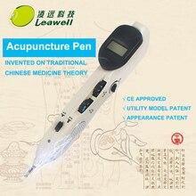2016 NEW Freies Verschiffen Laser Elektronische Akupunktur Akupunktur Stift Punkte Stift Meridian-Energie-stift