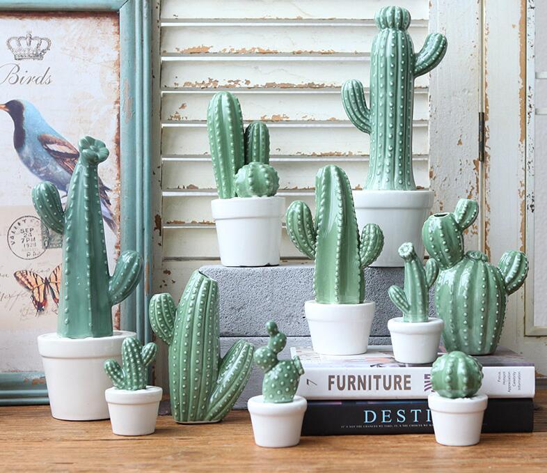 Керамические кактусы | Aliexpress