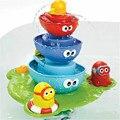 Brinquedo do banho do bebê banho de chuveiro do bebê fonte jogando brinquedos fornecimento seguro de produtos do bebê